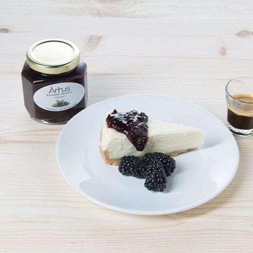 Organic Blackberry breakfast