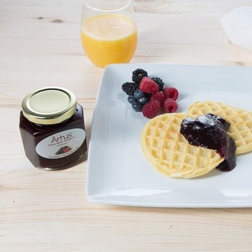 Organic Mixed Berry serving