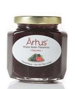 Organic mixed berry preserves by Århus