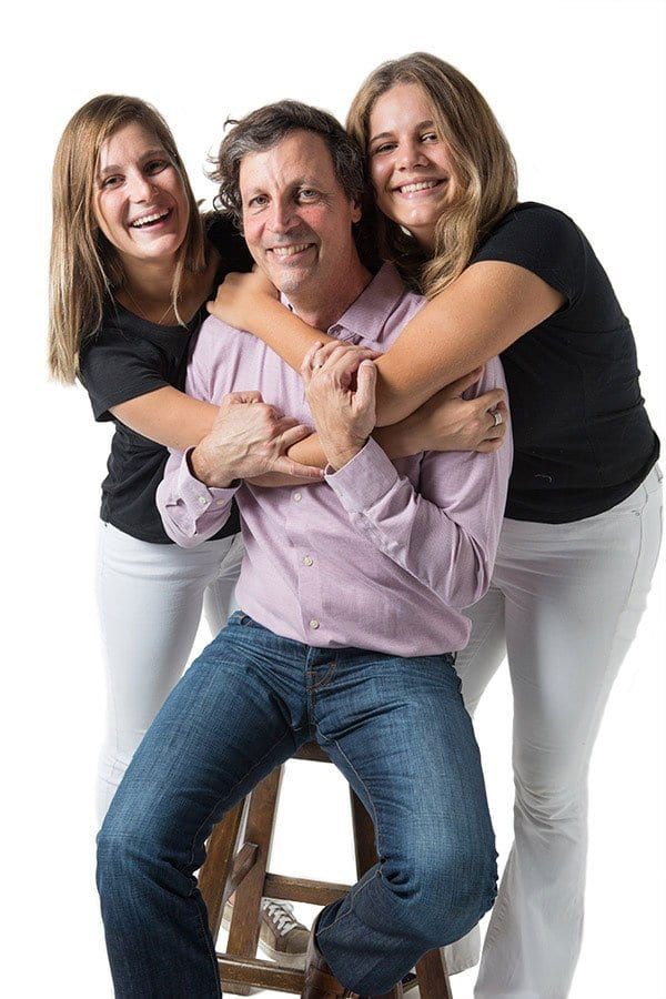 Århus Foods family standing photo