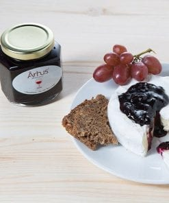 Goat Cheese with Wine Jelly by Århus Foods